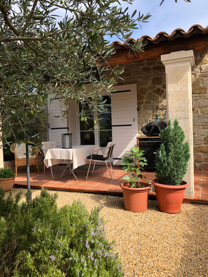 Charming stone house at the heart of Ardeche