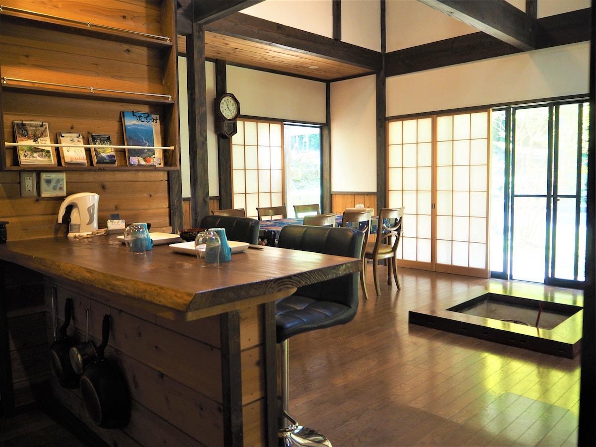 Kikuya ZenBase 古民家一棟貸