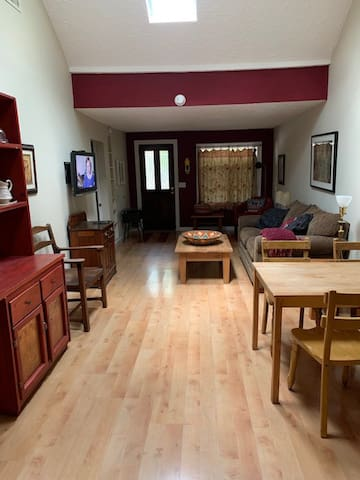 Living Room from Rear Showing Front Door
