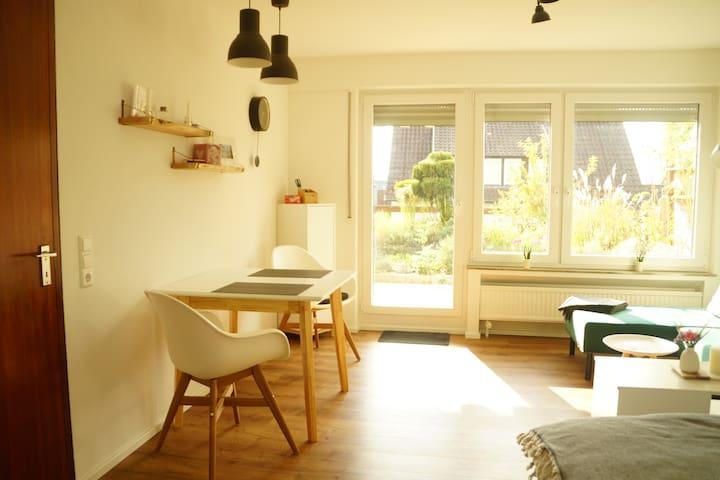Sonnige Wohnung in ruhiger Lage und doch zentral