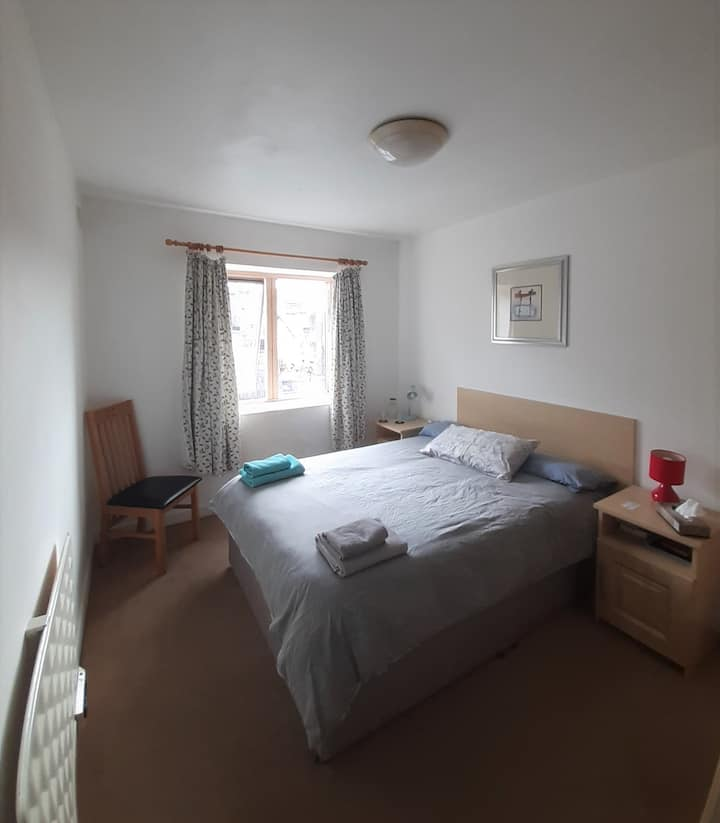 Comfortable double bedroom with ensuite bathroom
