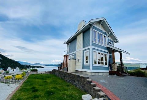 180 degree Panoramic Water & Mountain view cottage