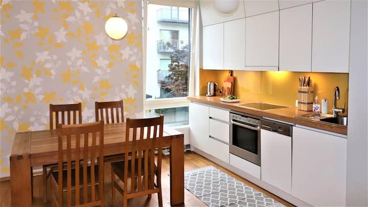 Fabulous Location Apartment with mini-SPA