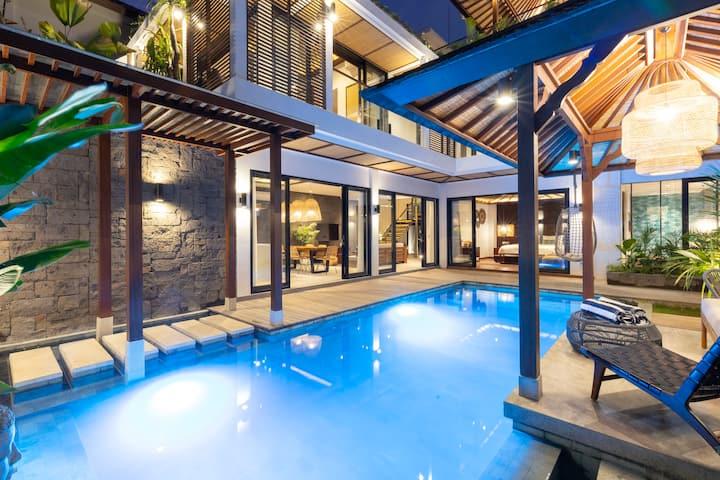 Designer Luxury Bali Villa In Canggu 3min To Beach Villas For Rent In Kecamatan Kuta Utara Bali Indonesia