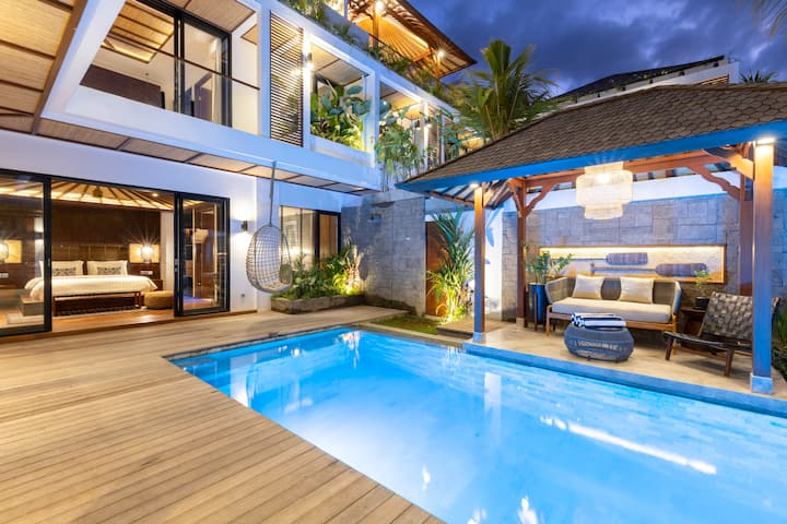 Designer Luxury Bali Villa In Canggu 3min To Beach