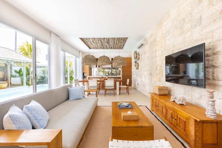Eco Beach Style Bali Villa In Canggu 3min To Beach