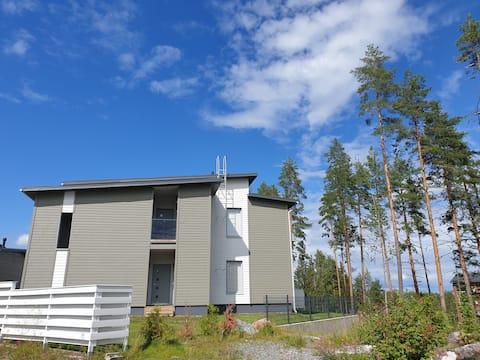 Kaksio Kuopion Saaristokaupungissa