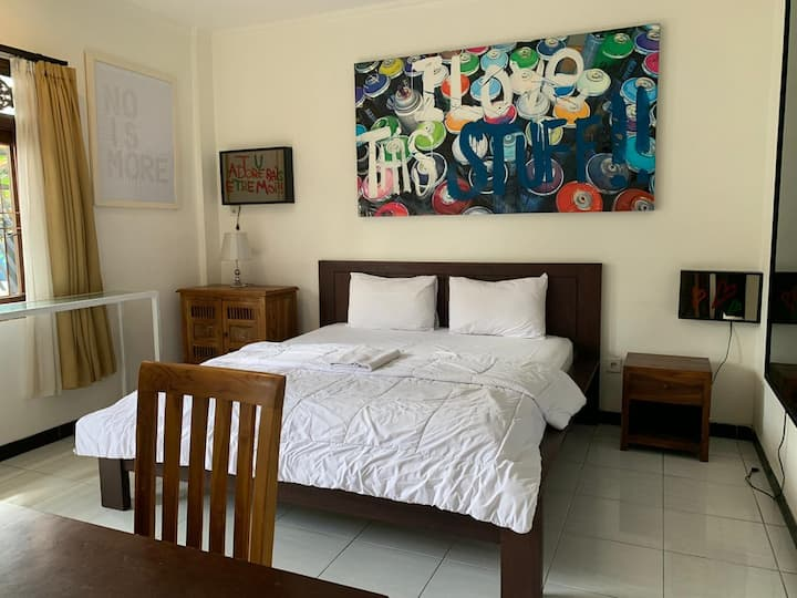 1BR Minimalist with Private Kitchen in Canggu