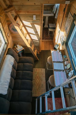 The Green Fish - Try a Tiny House in the Country
