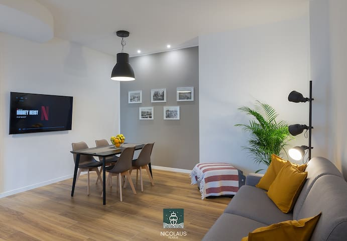 NicolausFlat, your home in the heart of Bari