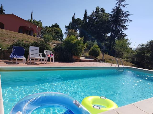 Casa in oliveto con piscina a Monteverdi Marittimo