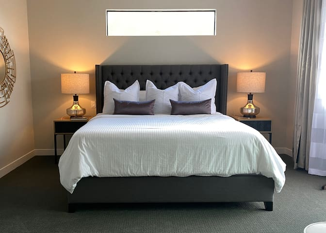 South Bedroom with California King bed.