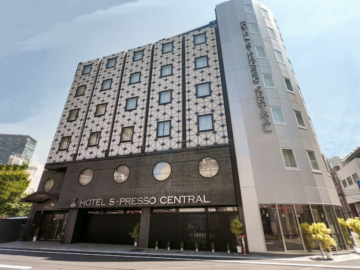 Hotel S-Presso Central-Three Bedroom Apart/ Namba