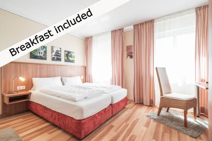 Flatista Boutique Hotel- Double room shared toilet