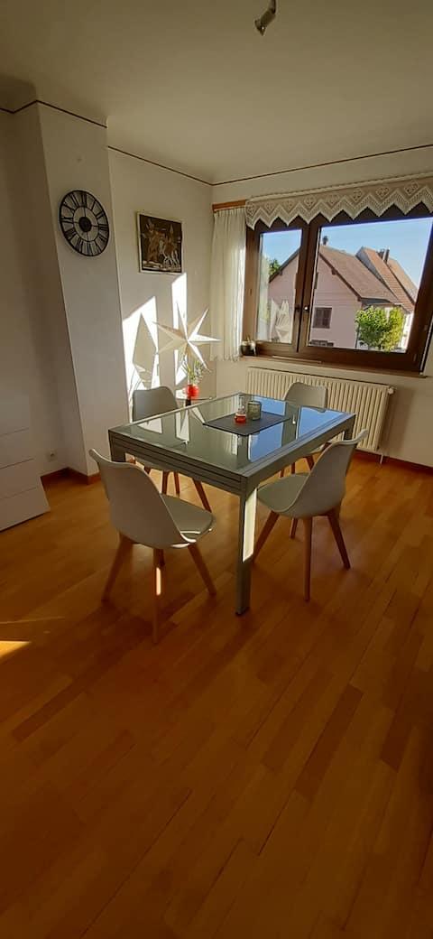 Hus til op til 4 personer i Alsace Bossue