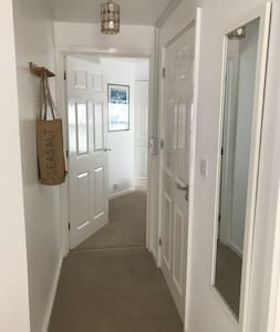 Corridor to bedroom and wet room- wheelchair accessible