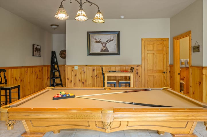 Who is up for a game of pool in our game room?