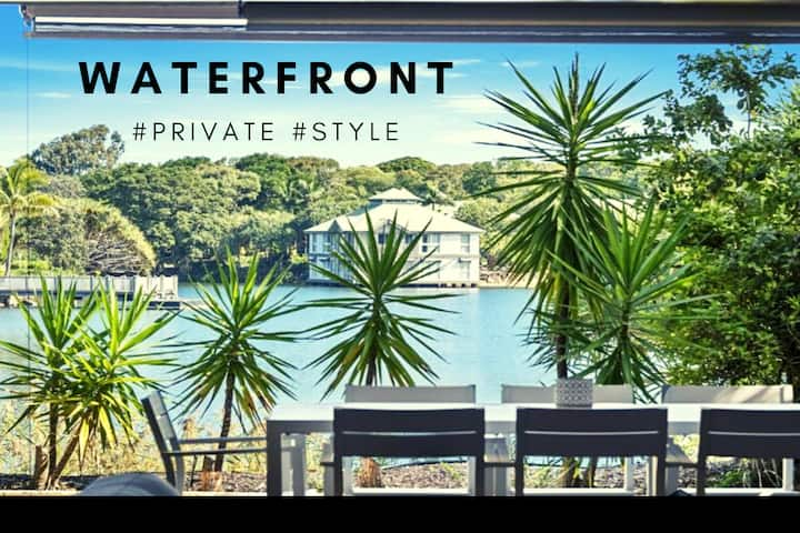 Twin Waters - Waterfront #STYLE #RESORT