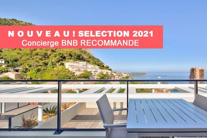 W6 Résidence BNB Confort - Beausoleil - Vue Mer