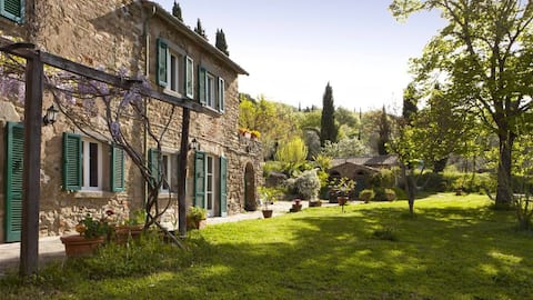 Villa Rasenna - Privé biologische olijfboerderij
