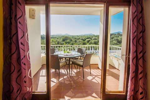 Apartment Residencial Cala Ferrera 2A With Balcony