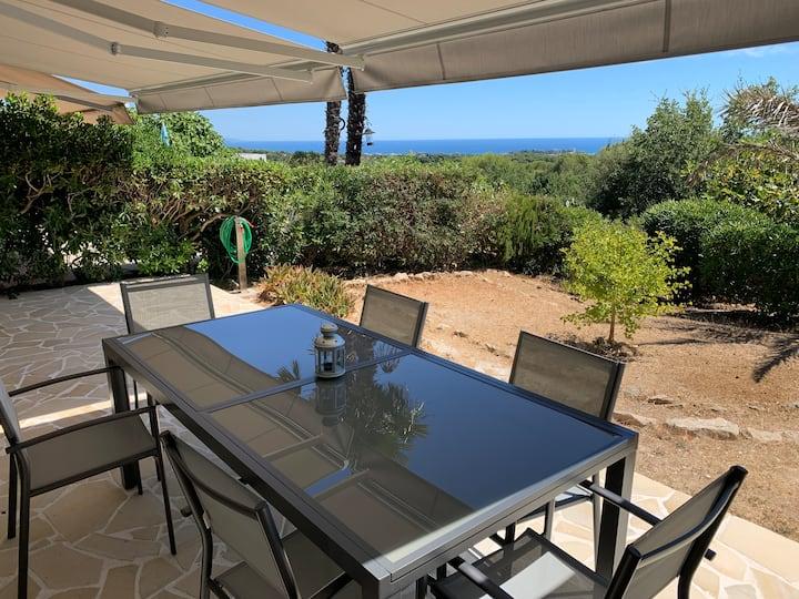 Villa Californienne avec vue mer