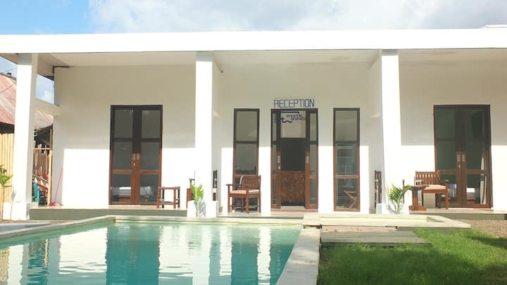 WHITE SANDS NEW BOUTIQUE HOTEL 2 gili trawangan