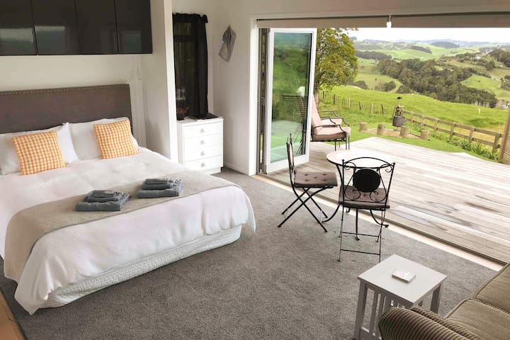 Comfortable furniture and great views