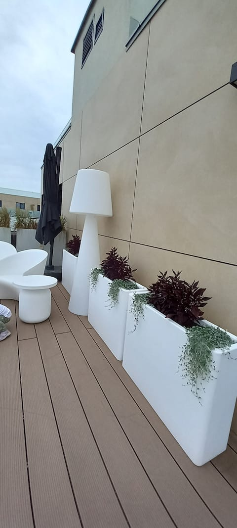 Apartment with a beautiful terrace