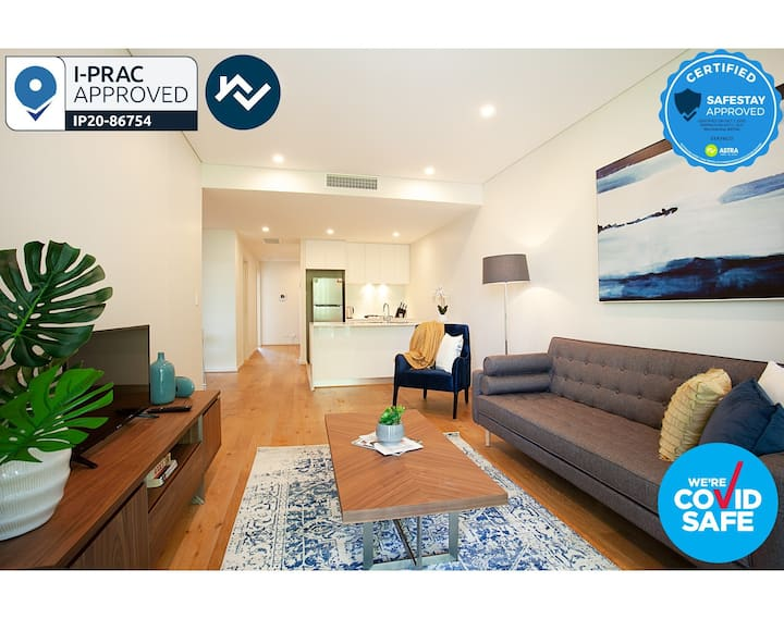 STAY&CO - Amazing 2BR Serviced Apartment in Crows Nest (11,14)