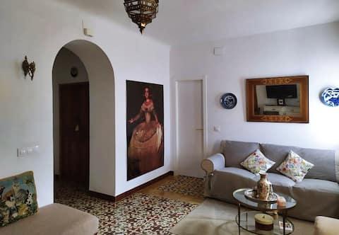 La casa Ancha, in Lahiguera