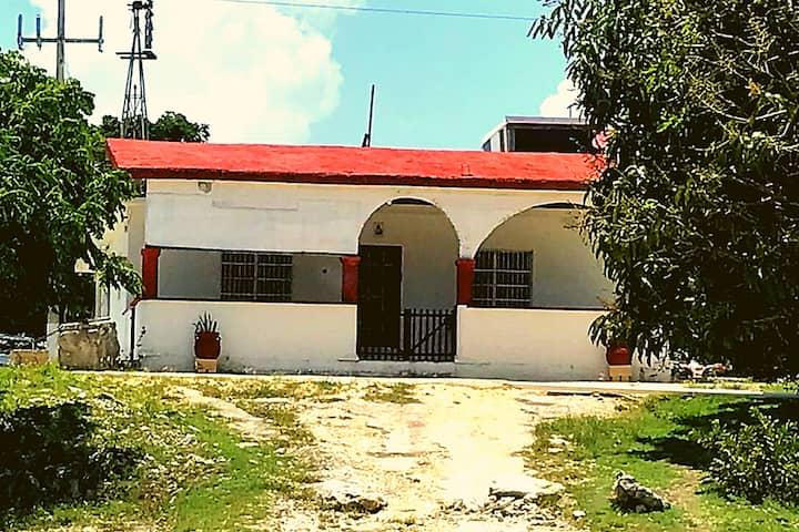 Casa de Campo Tulum habitación2 cómoda y espaciosa