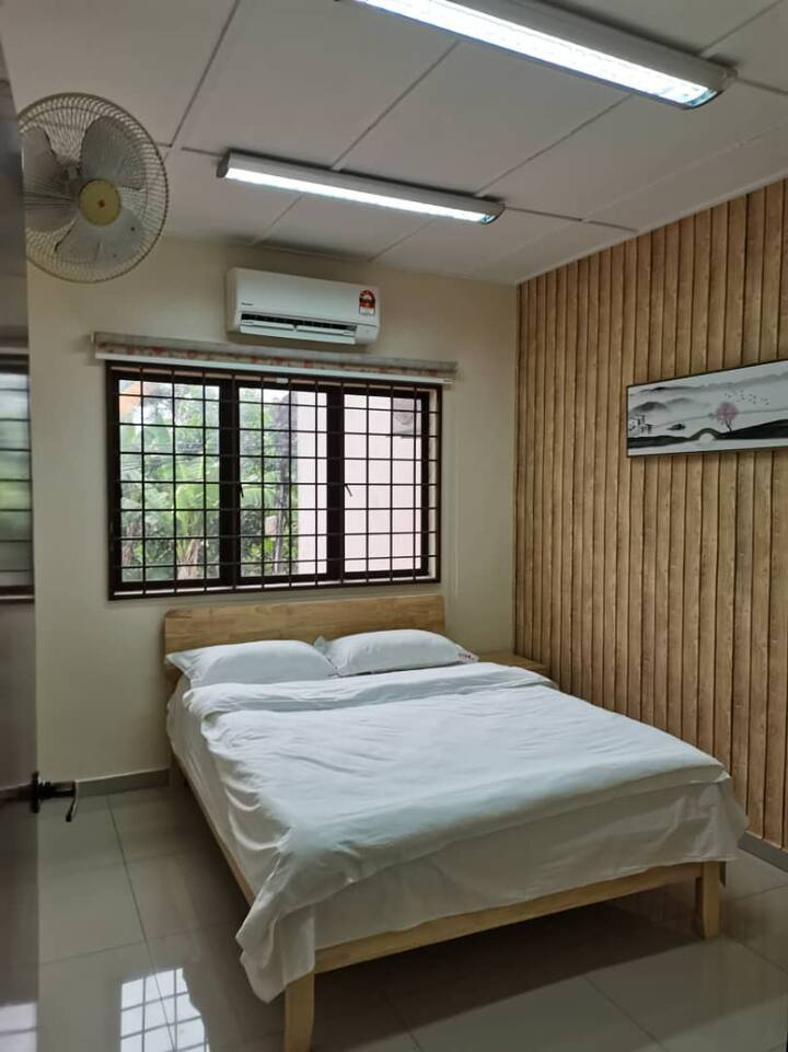 Double Room @ KL/Pandan Jaya吉隆坡双人房中国风民宿