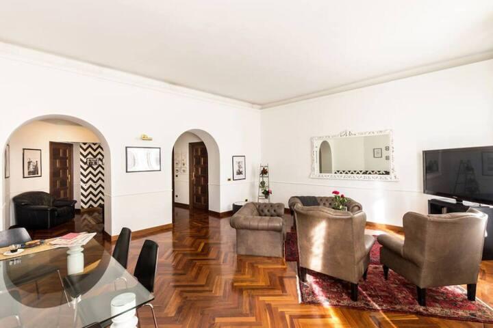 Lovely rooms (A) above Trastevere