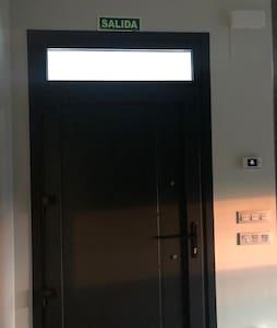 Entrada principal de la casa
