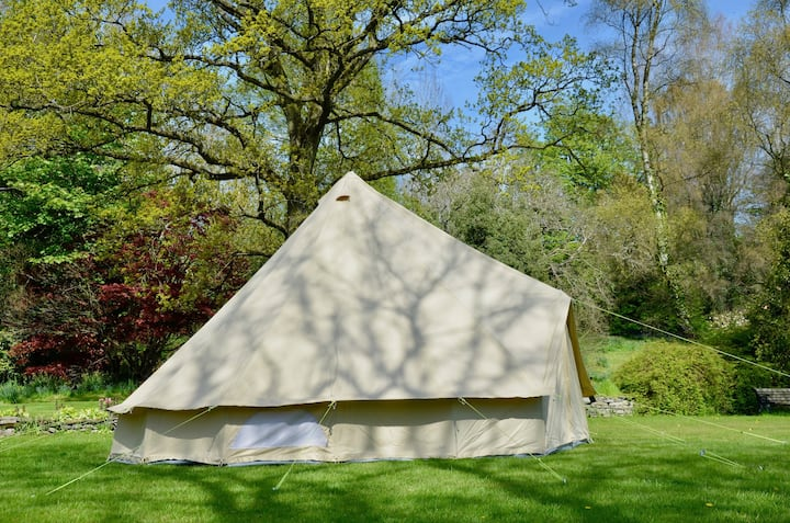 Brand New 6m Bell Tent for Rent East Devon