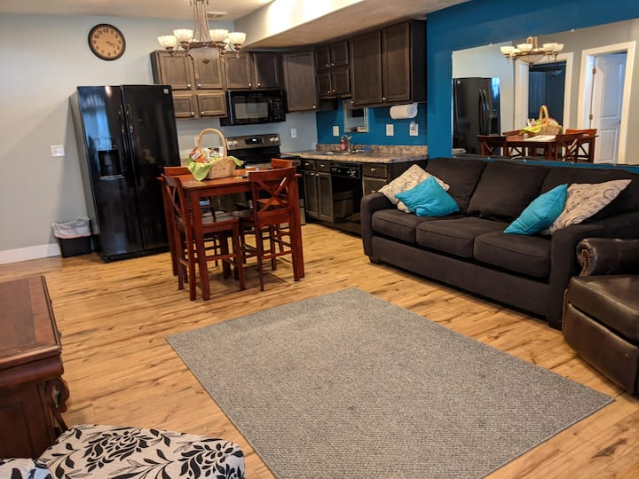 Your Home Away From Home! (2-Bdrm, stack W&D)