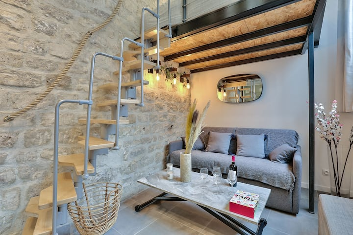 Cosy & Modern Studio walking distance from Marais