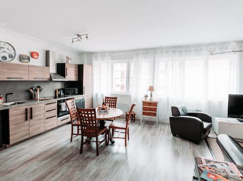Appartement tout confort centre-ville