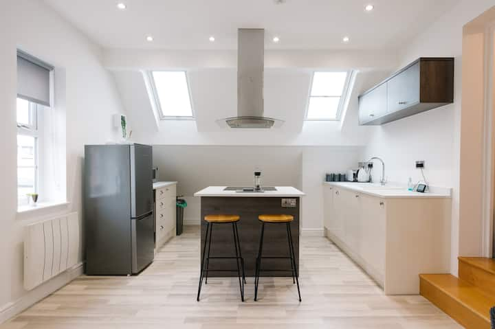 Newly Renovated Modern Rooftop Northampton Flat