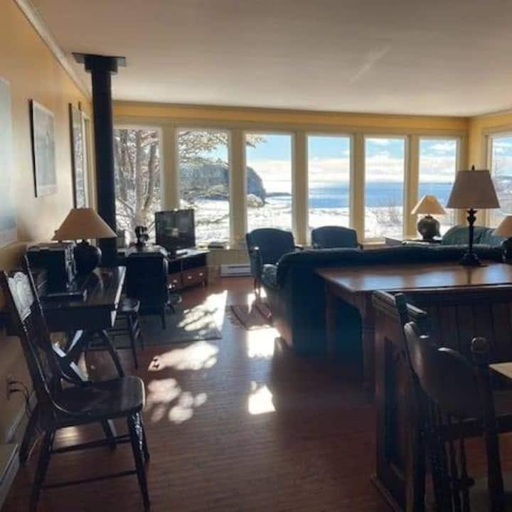 ERIN HOUSE 4.5 stars, view of Trinity Bay