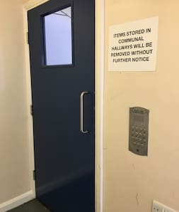 Doorway to access the lift