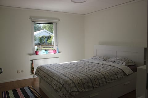 A new furnished , nice room with nice garden view