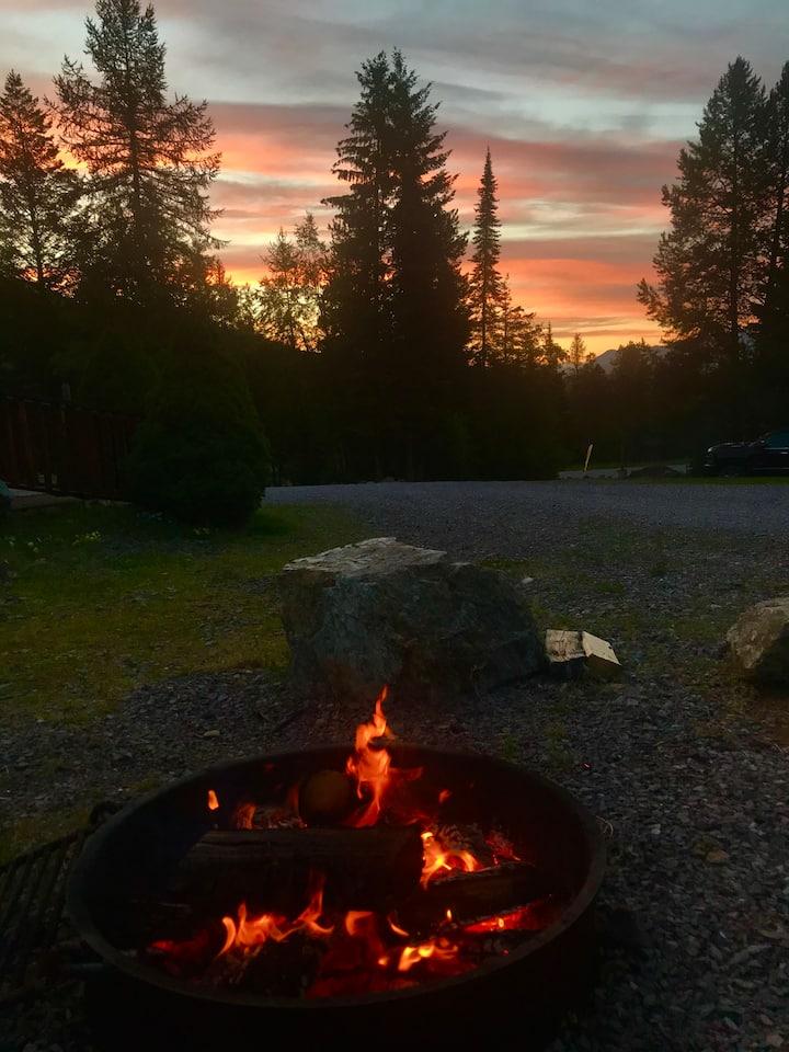 Tent Campsite 11 near Glacier National Park