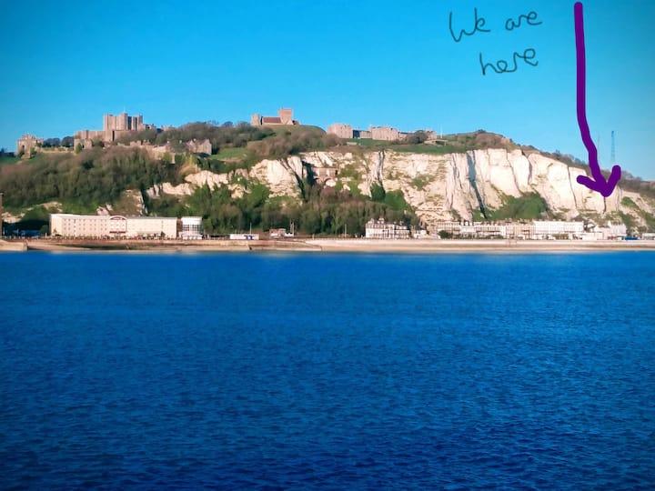 Dover Cliffs view