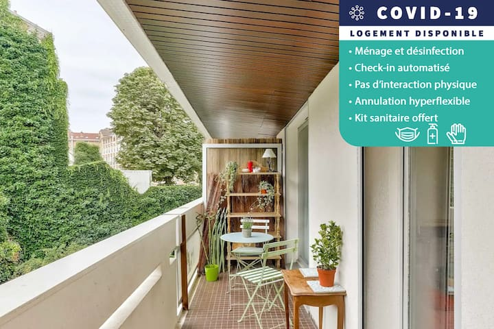 AUTOMATED CHECK-IN - Nice Studio with balcony - Paris