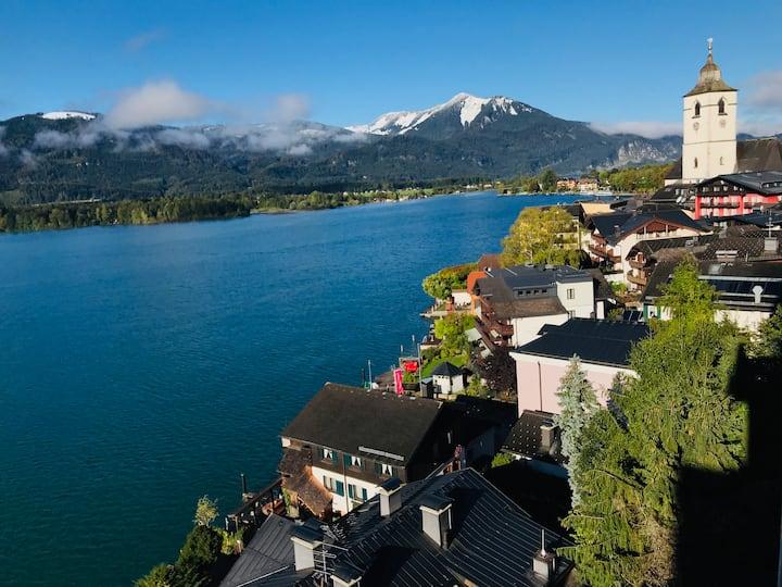 Lakeview Apartment Fernblick