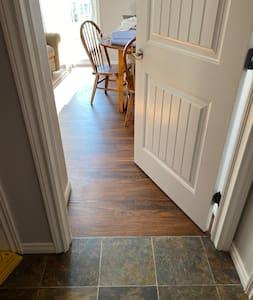 Wide doorframes to fit walker or wheelchair