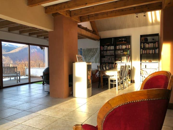 Spacious and quiet home in L'Aragnat