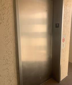 Elevator access to 3rd floor.
